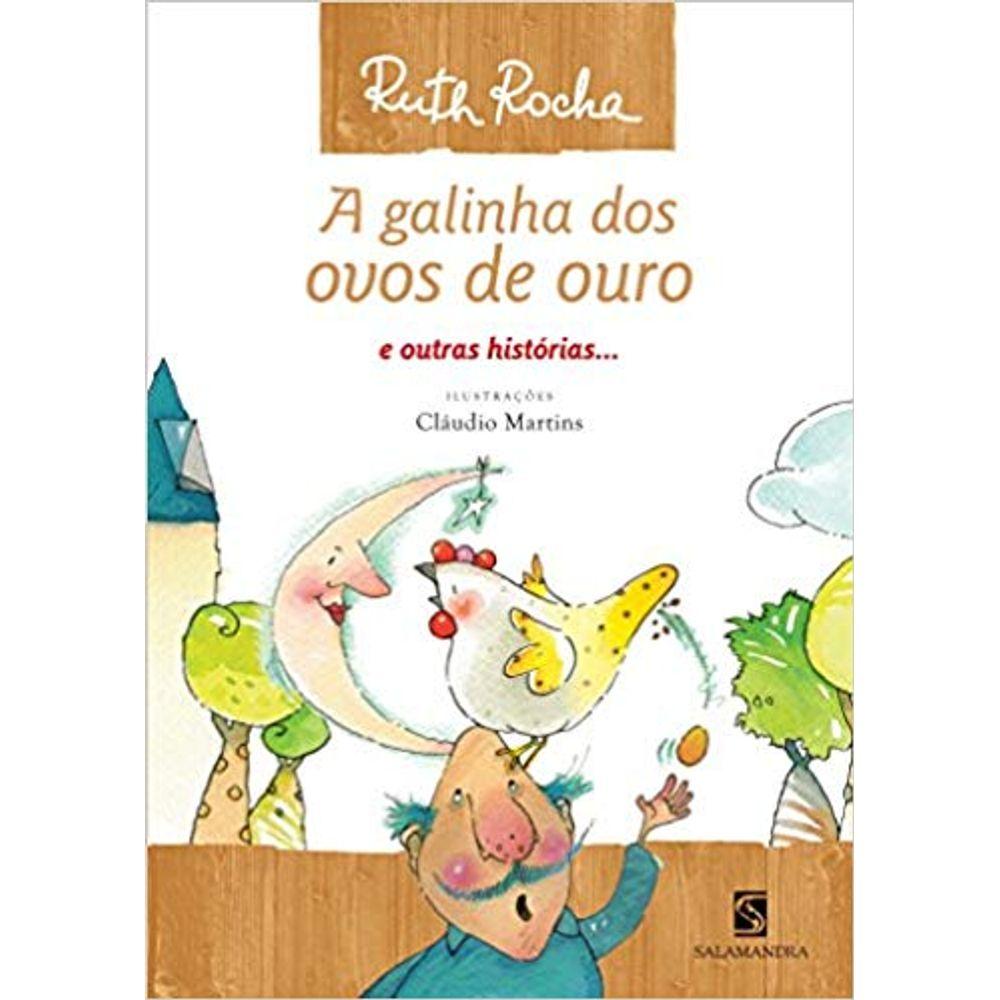 A Galinha Dos Ovo De Ouro Para Colorir a galinha dos ovos de ouro e outras histórias - coleção